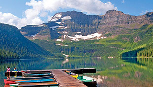 Glacier and Waterton Walking Trip